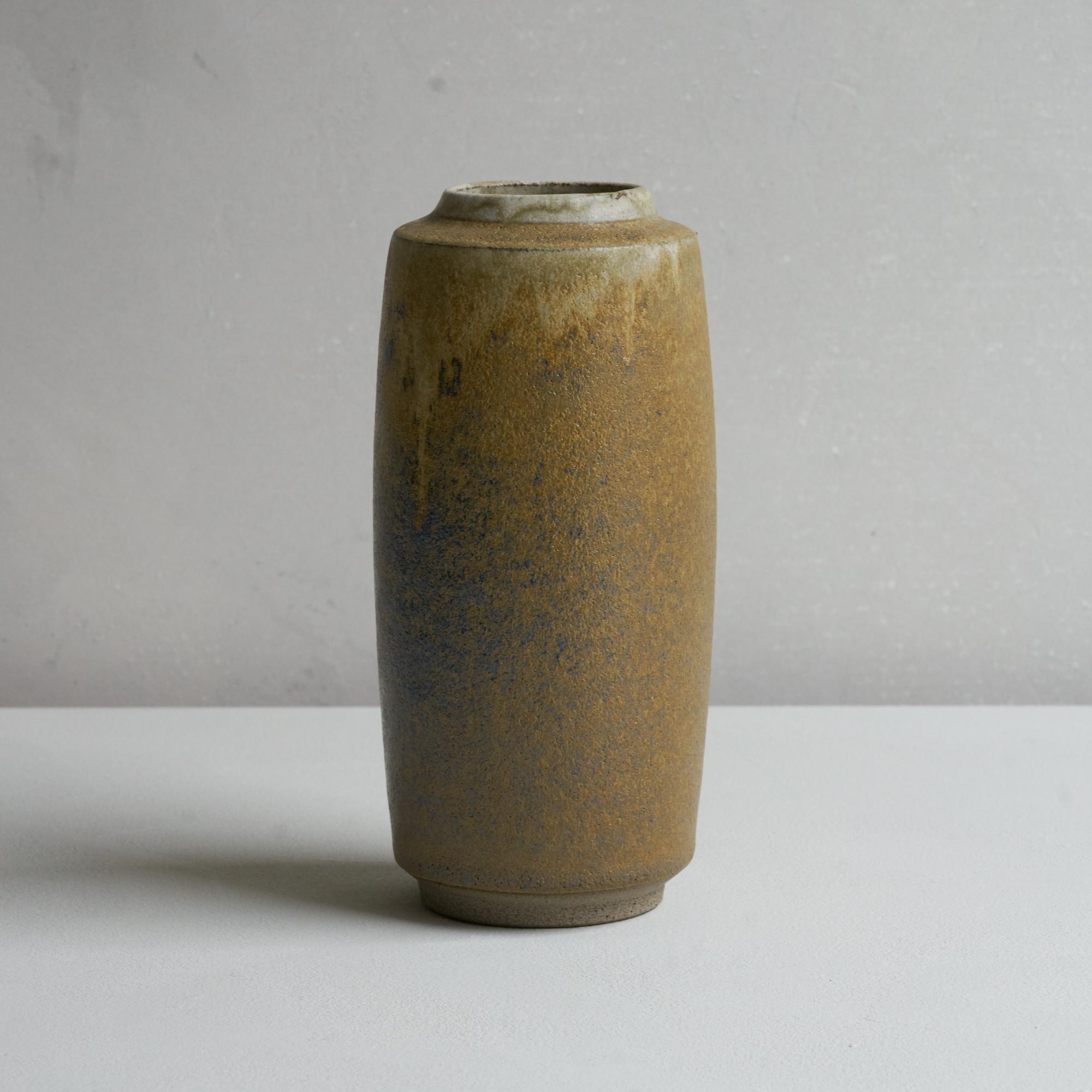 Tina Marie Yellow Green Vase