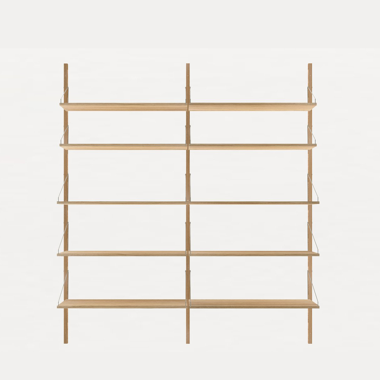 Frama Shelf Library Oiled Oak H1852 / Double section