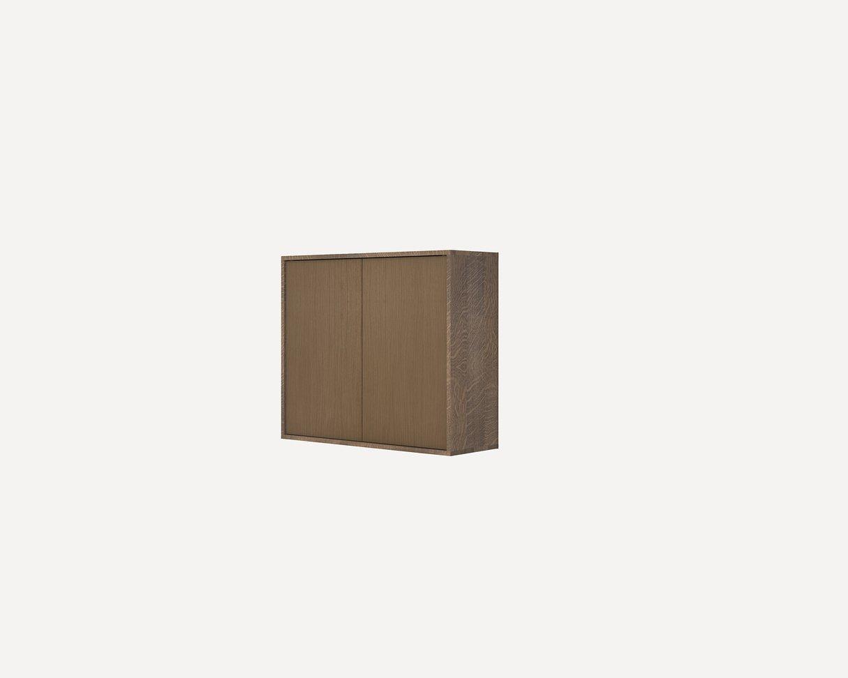 Frama Shelf Library Dark Oiled / medium cabinet