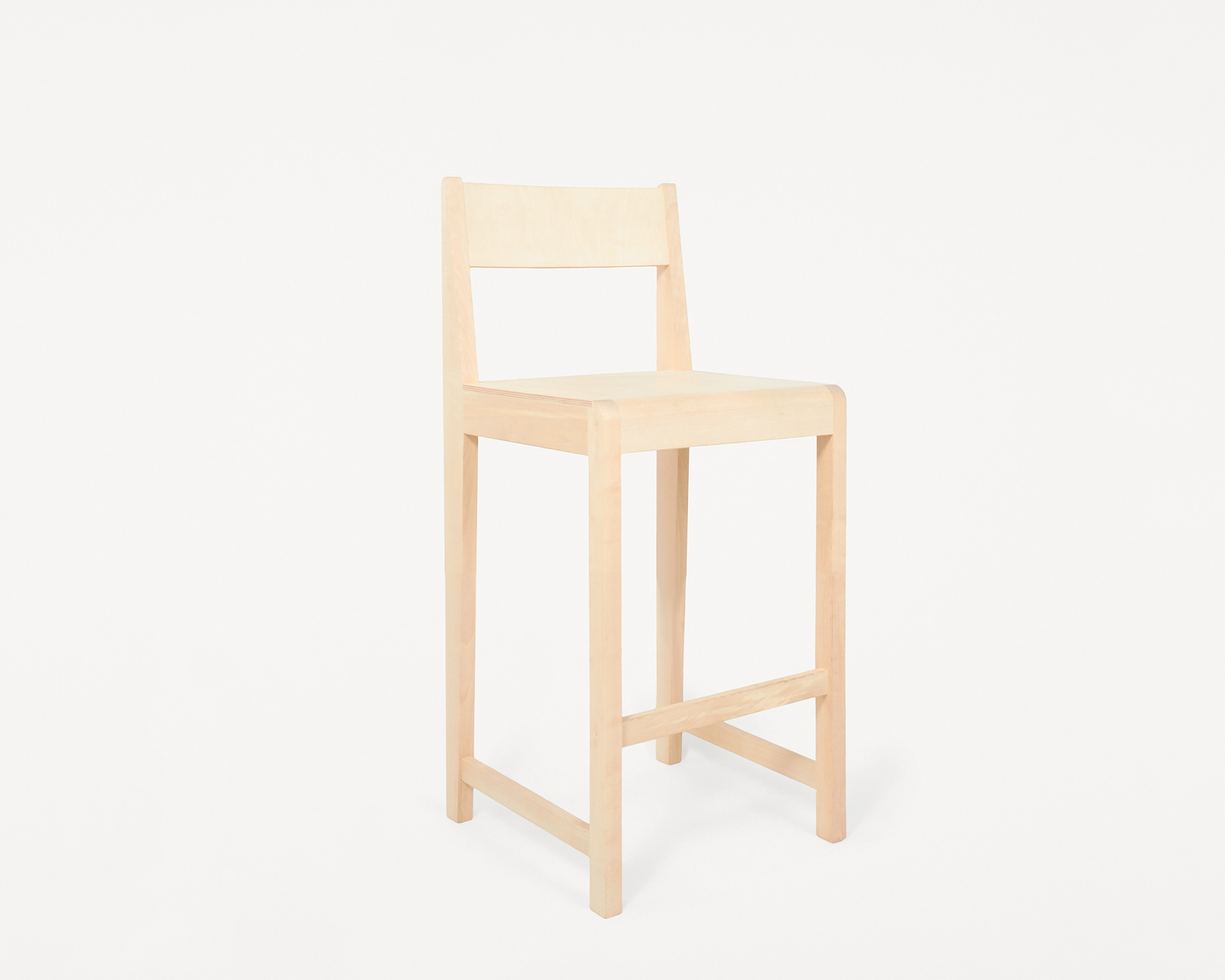 Frama Bar Chair 01 Natural Wood