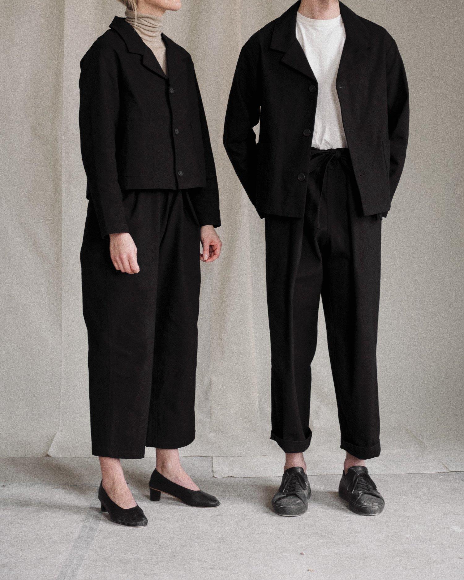 Aure Studio Atelier Trousers Black
