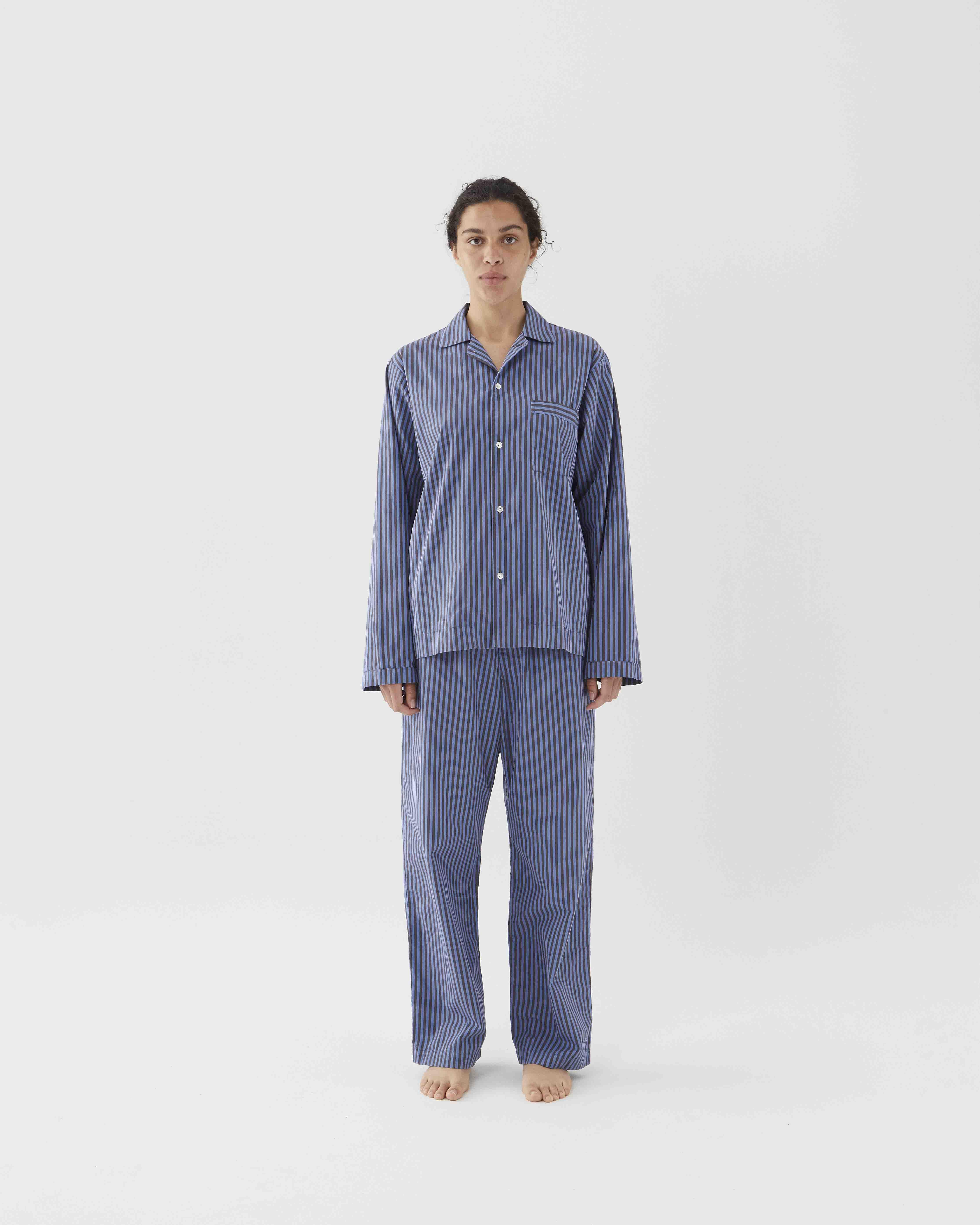 Tekla Sleepwear Verneuil stripes