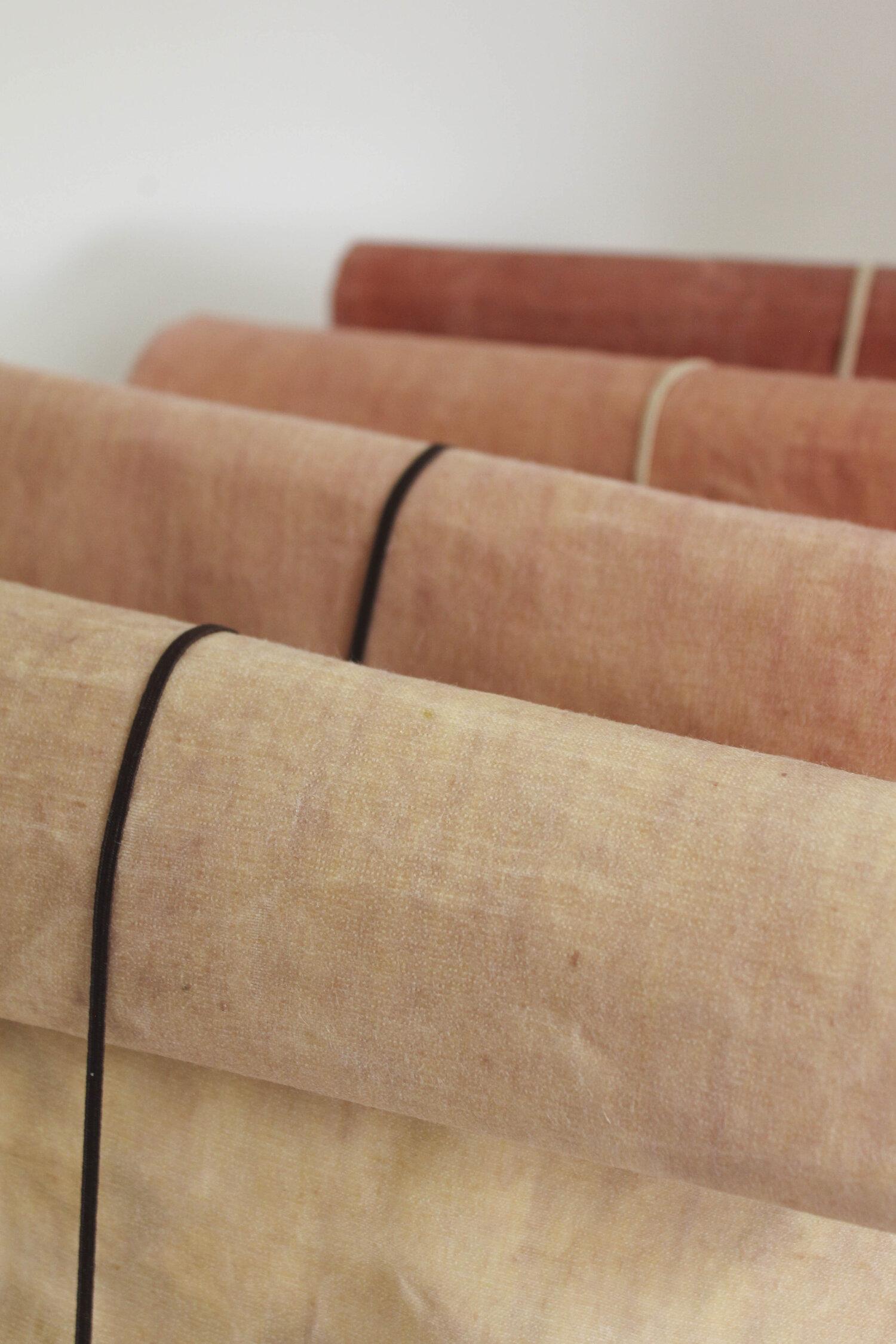 Wax Atelier / Waxed Linen Roll-top Bag / Colourway 02