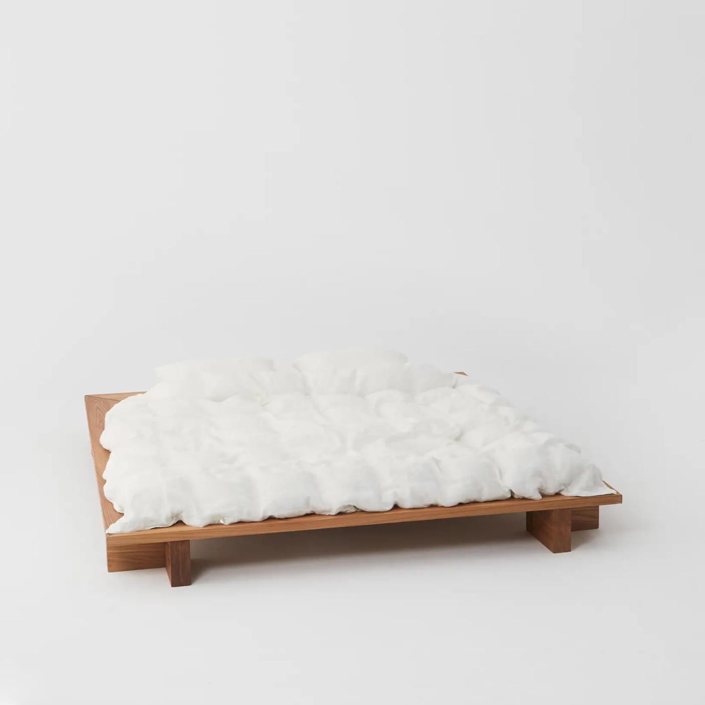 Tekla Linen Bedding - Cream White