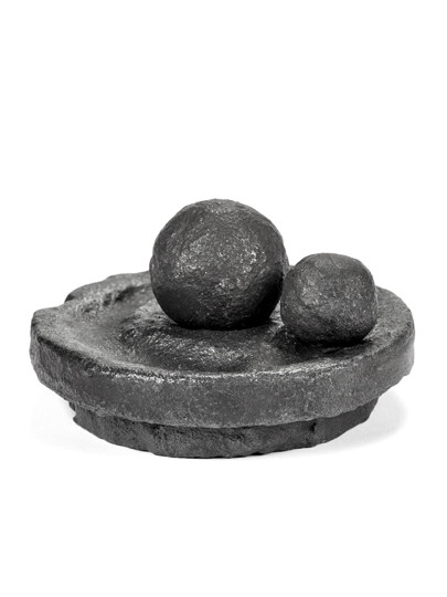 Valerie Objects Knutson+Ballouhey Salt/Pepper Mortar and Pestle
