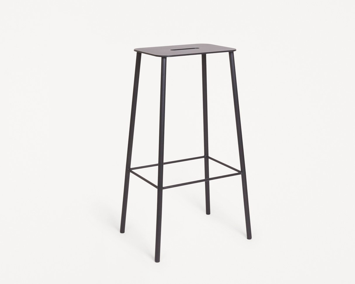 Frama Adam Stool Mono | Black | H76