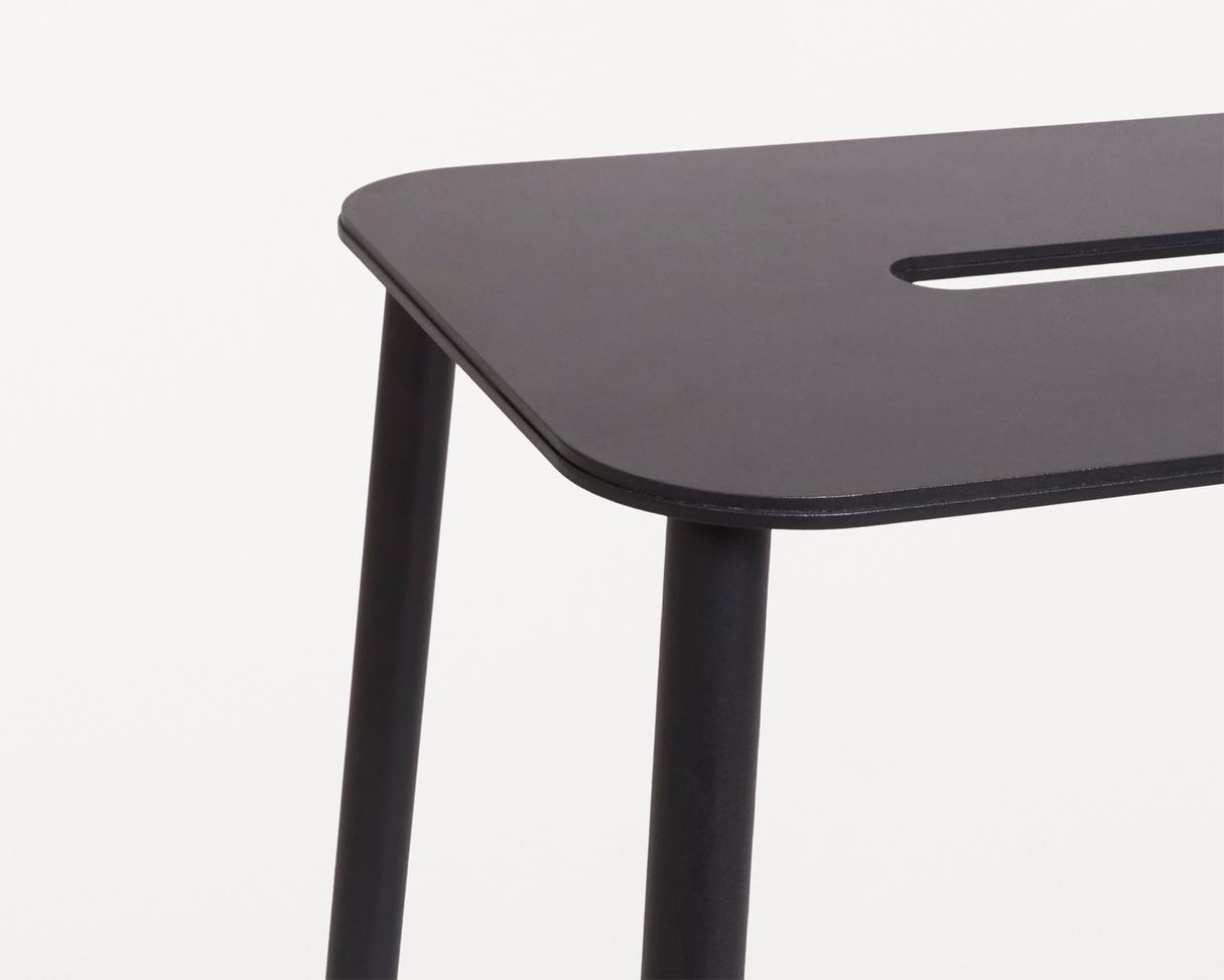 Frama Adam Stool Mono | Black | H76