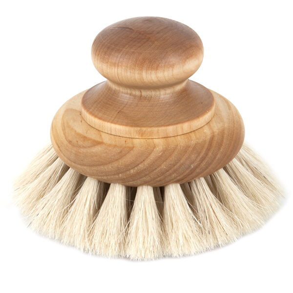 Iris Hantverk Bath Brush Round With Knob