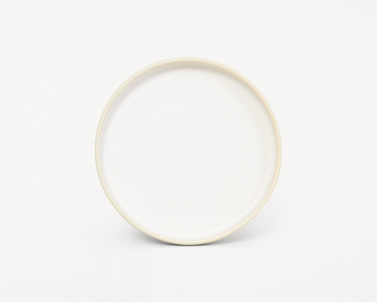 Frama Otto plate (S) White
