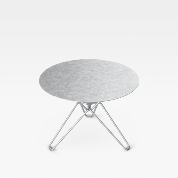 Massproductions Tio Side Table - Hot Dip Galvanised