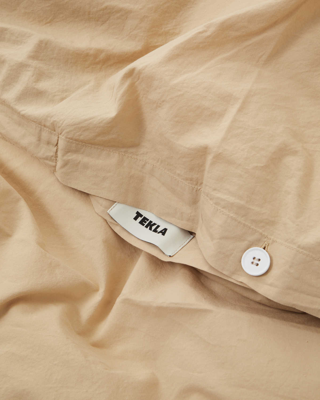 Tekla Organic Cotton Bedding - Sand beige