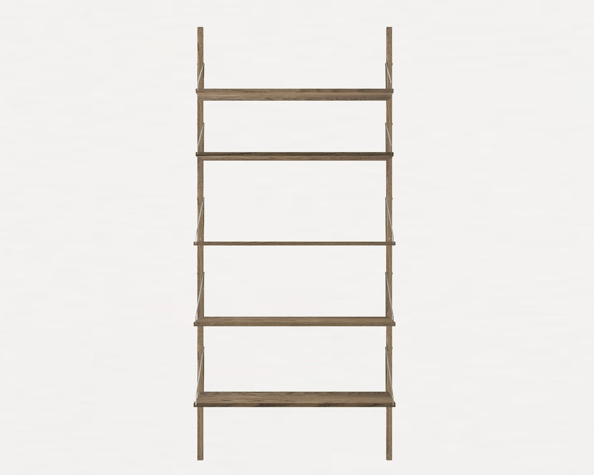 Frama Shelf Library Dark Oak H 1852
