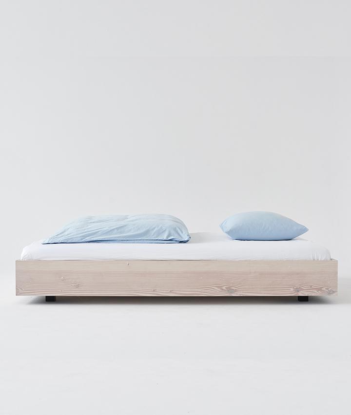 Tekla Organic Cotton Bedding - Sky blue