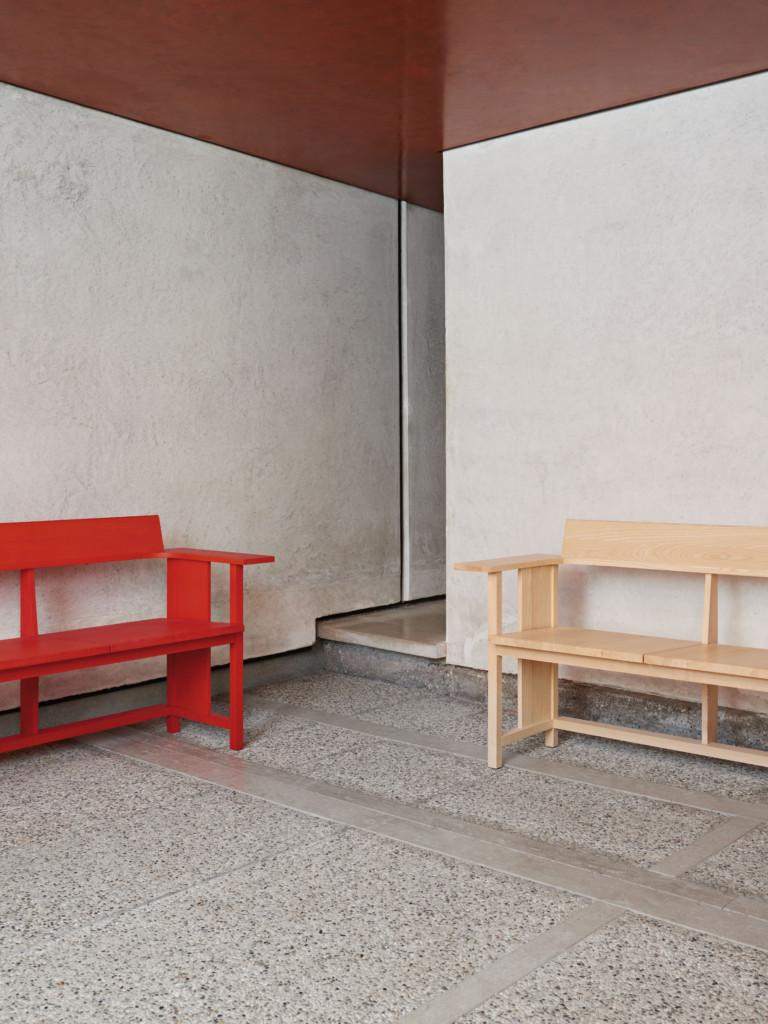 Mattiazzi Clerici Bench 3-seater