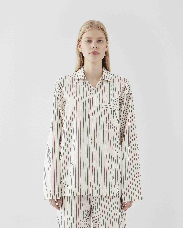 Tekla Sleepwear Hopper stripes