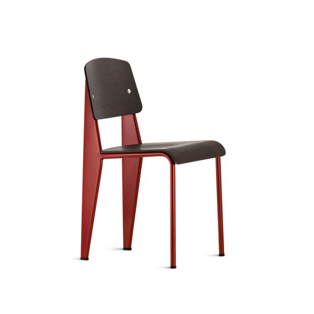 Vitra Standard Chair Dark Oak