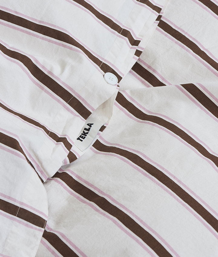 Tekla Organic Cotton Bedlinen - Anholt Stripes