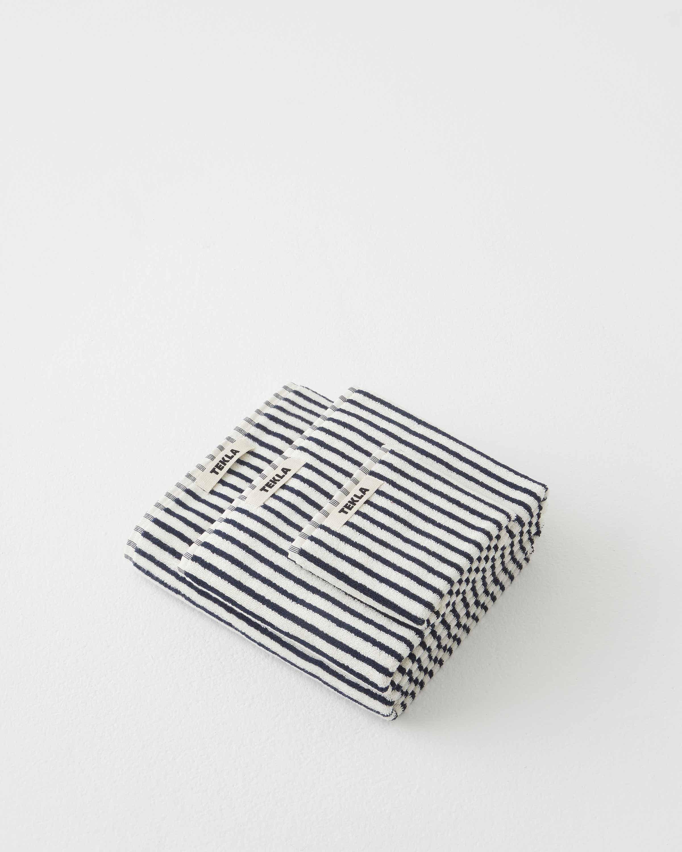 Tekla Organic Terry Towel - Sailor Stripes