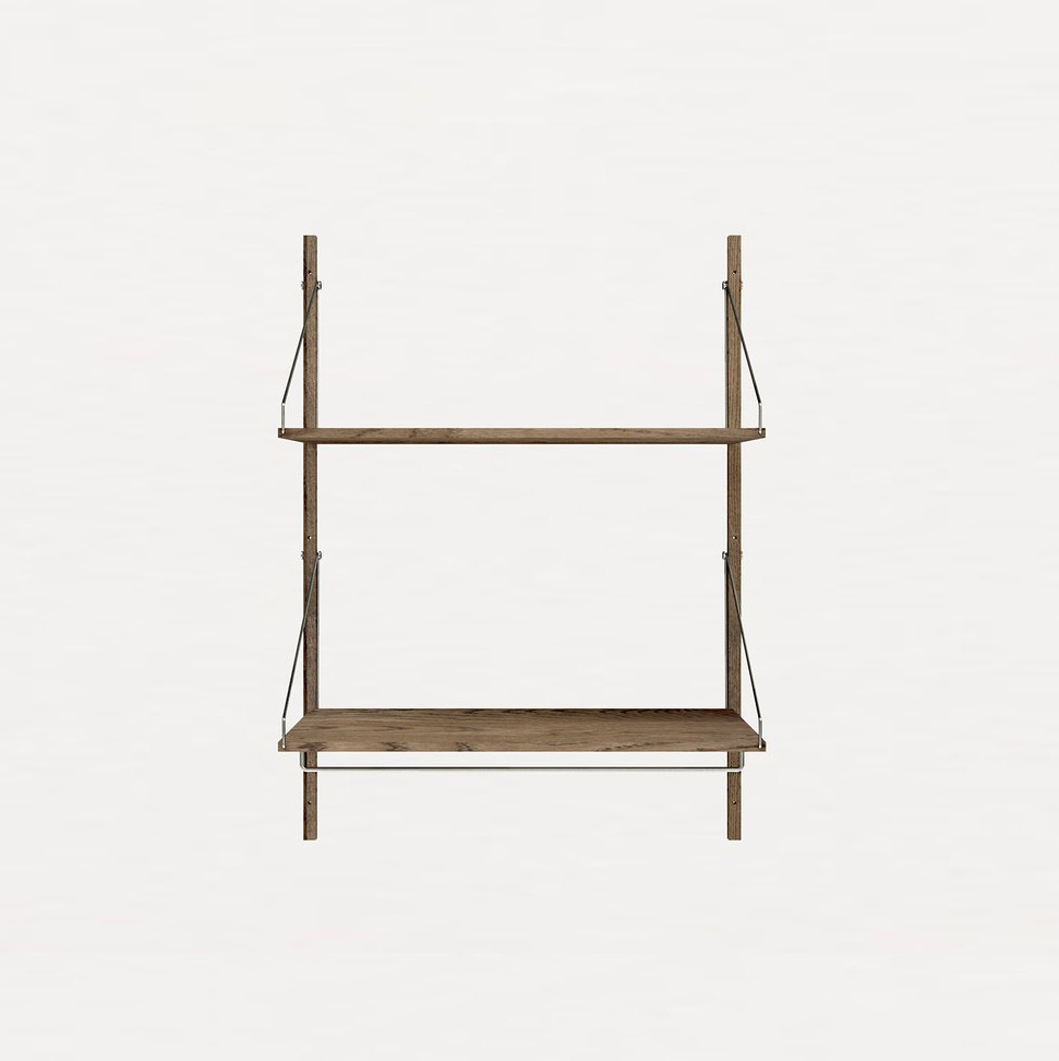 Frama Shelf Library Dark Oak H1148 | Hanger Section