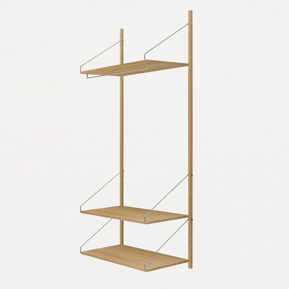 Frama Shelf Library Natural H1852 | Hanger Section