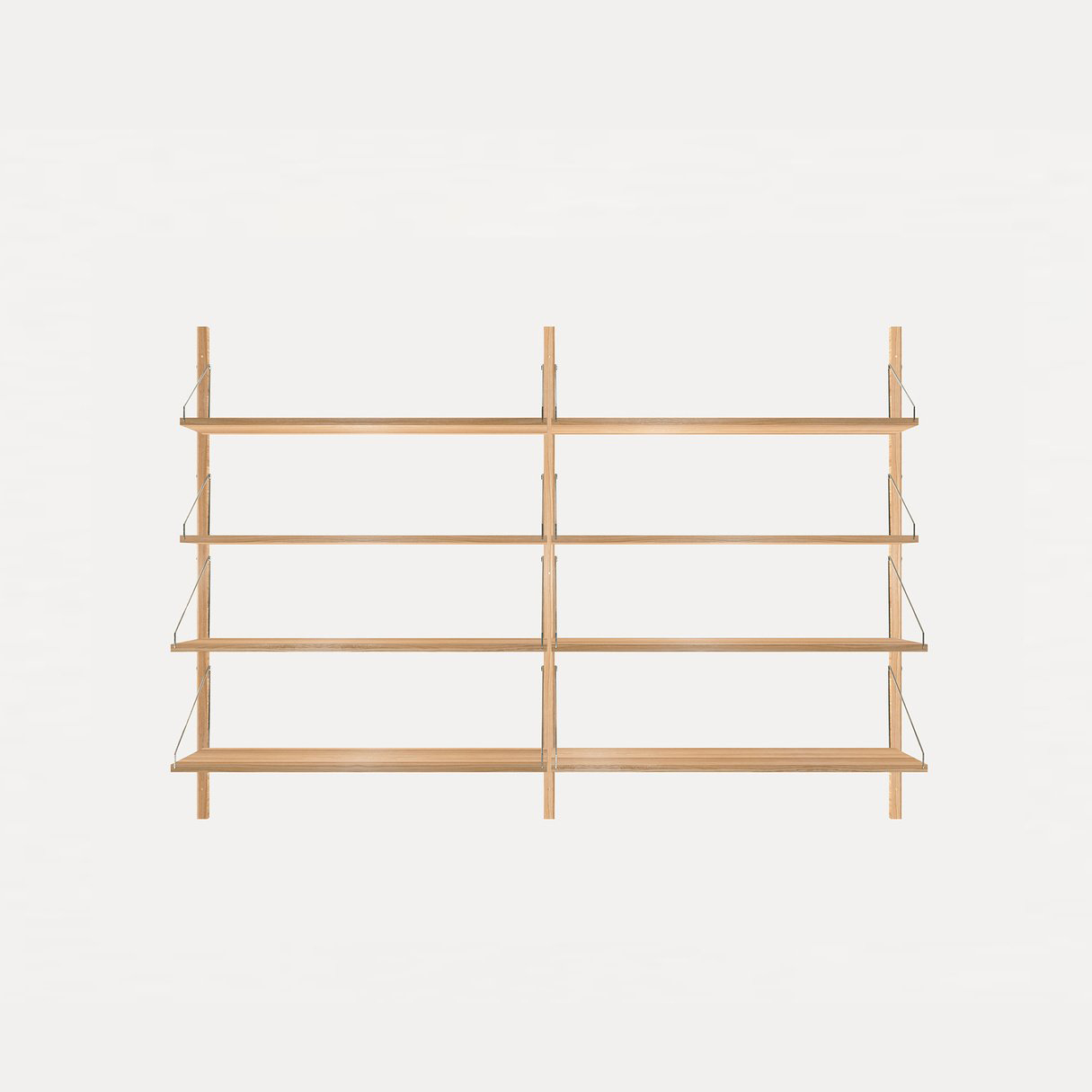Frama Shelf Library Oak H1148 / Double section