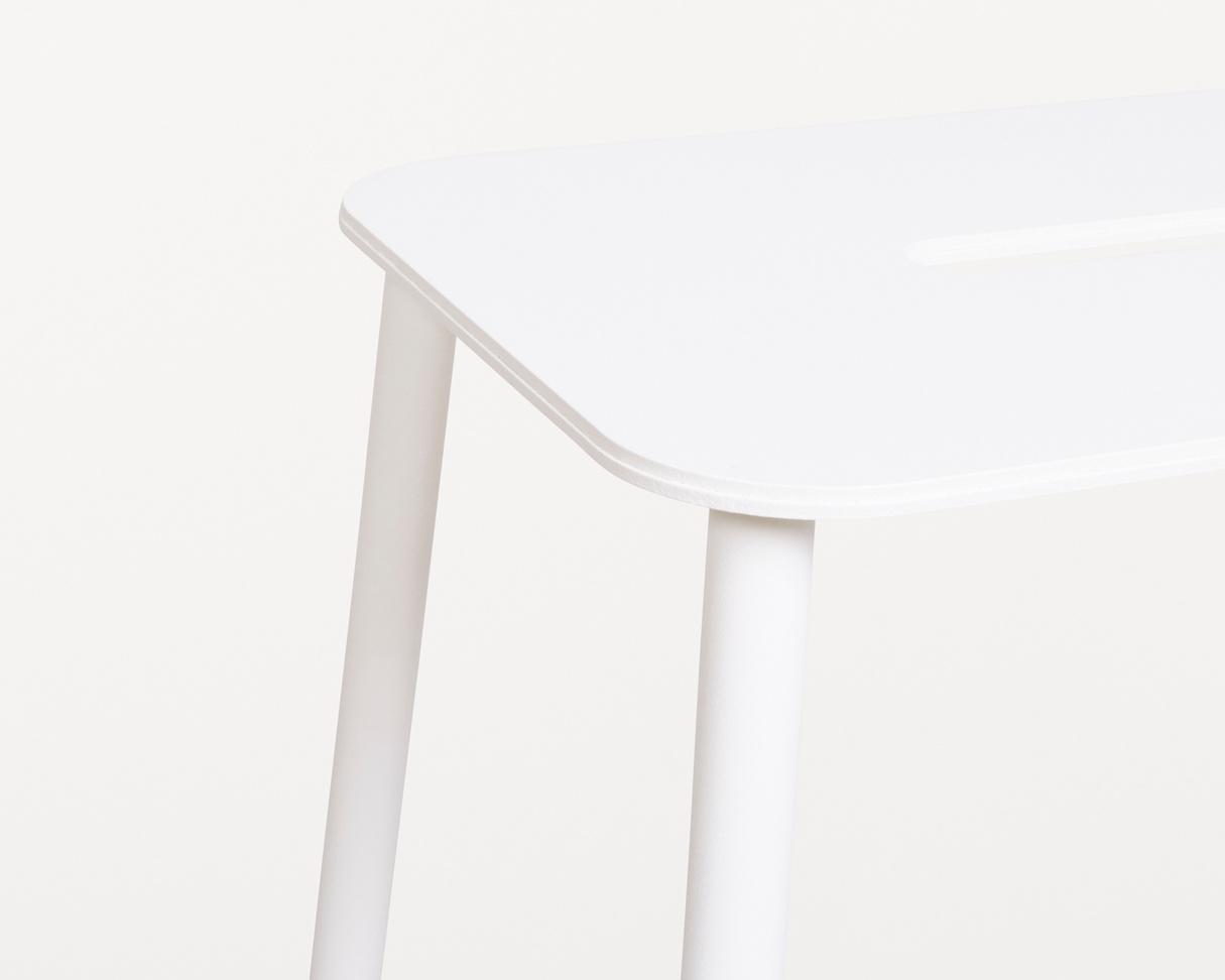 Frama Adam Stool Mono | White | H65