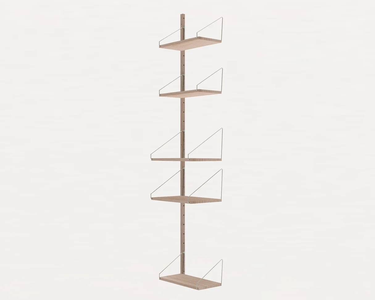 Frama Shelf Library White H1852 / W40 Add-on section