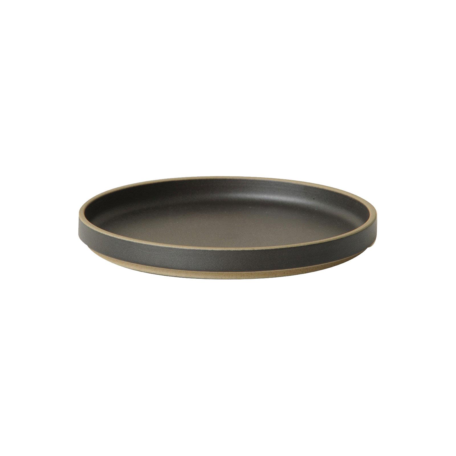HPB003 Hasami Plate black Ø 18,5 cm