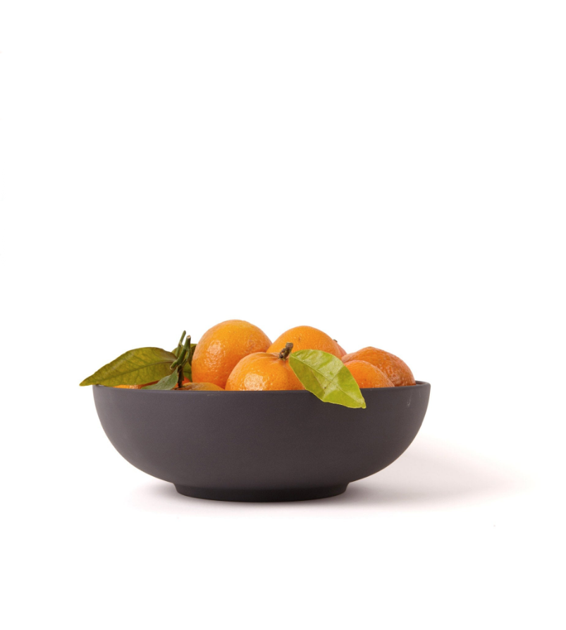 Another Country Pottery Series Serving Bowl black