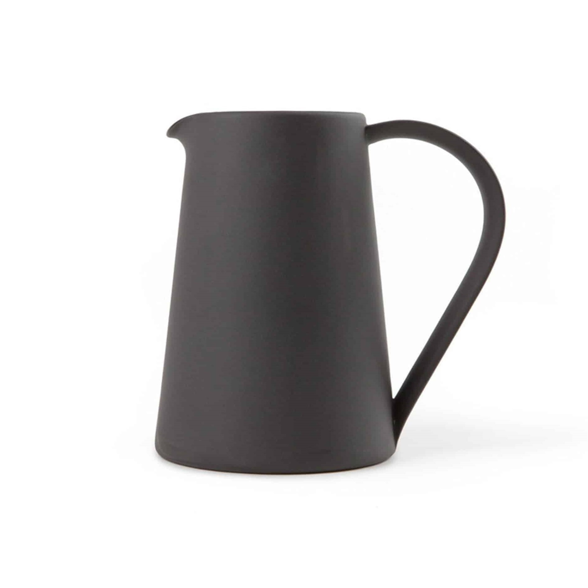 Another Country Pottery Series Pitcher Black