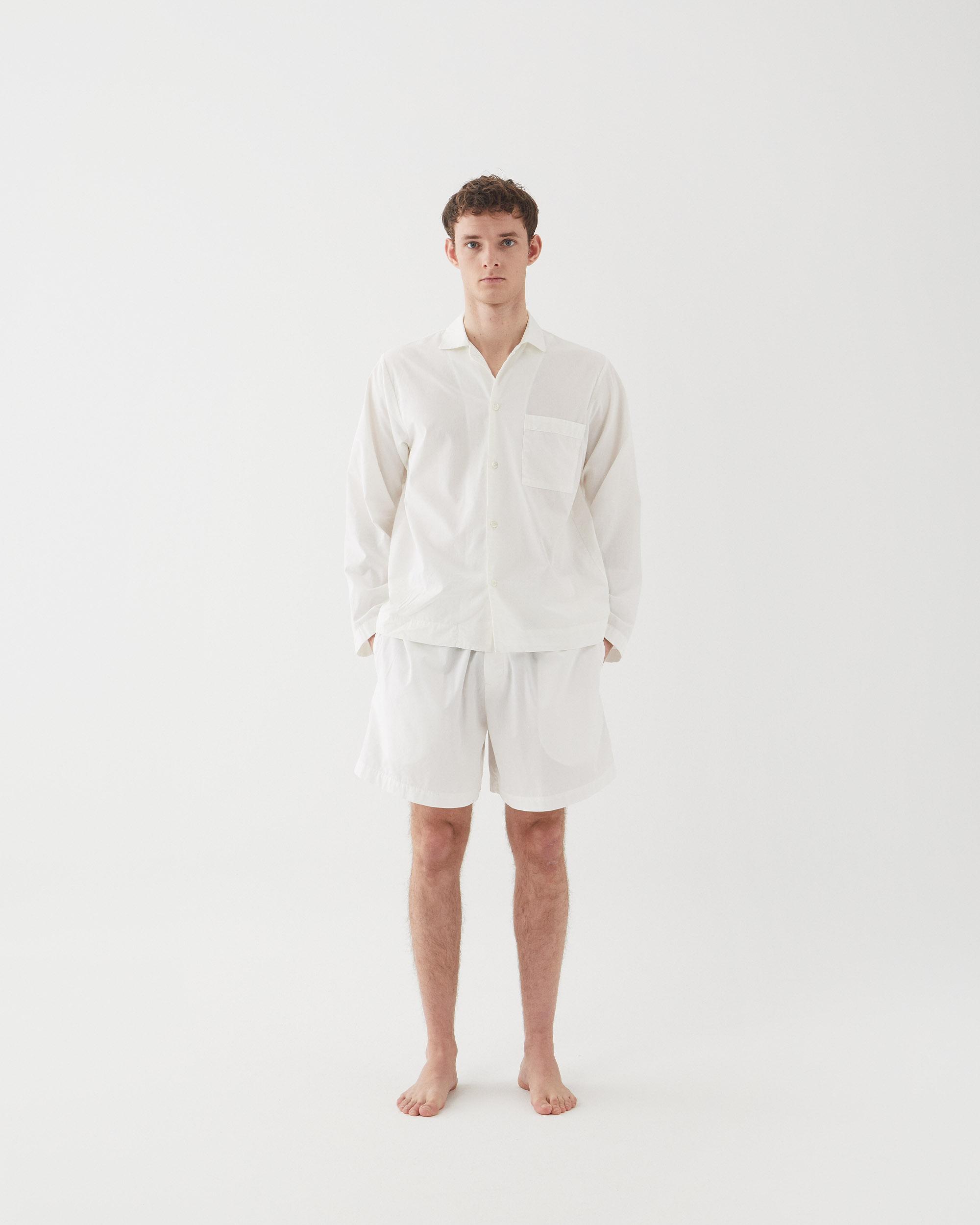 Tekla Sleepwear Alabaster white