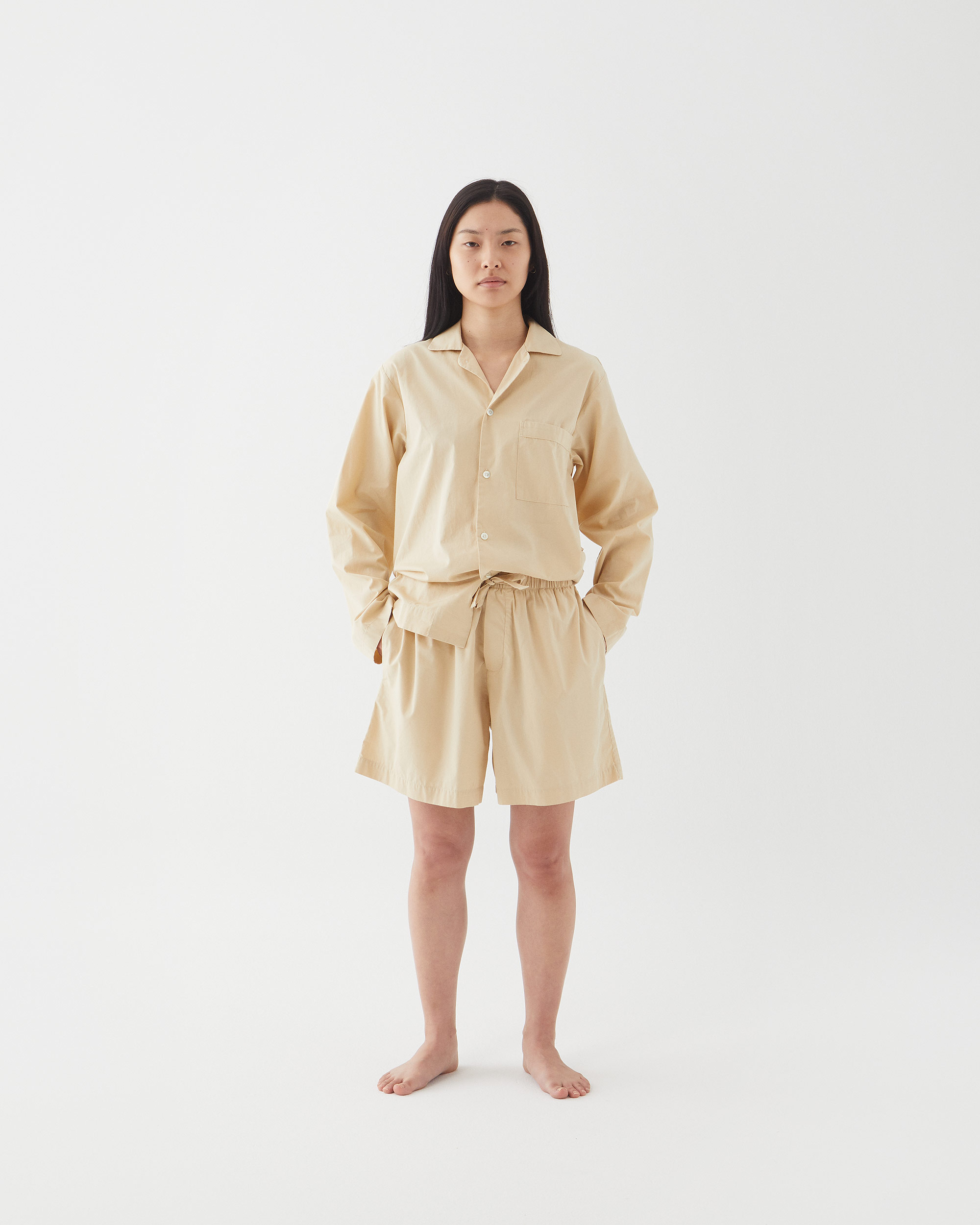 Tekla Sleepwear Khaki