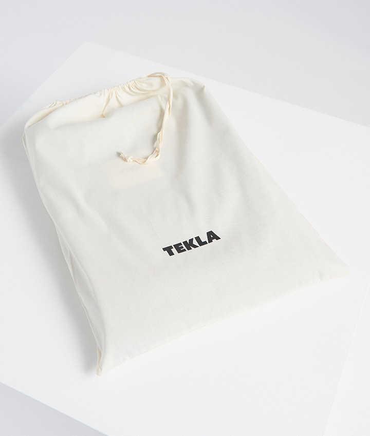Tekla Pure New Wool Blanket Hazel brown