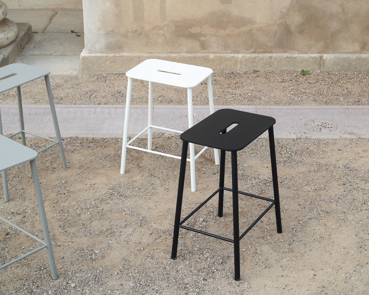 Frama Adam Stool Mono | Black | H50