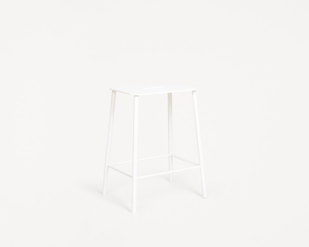 Frama Adam Stool Mono | White | H50