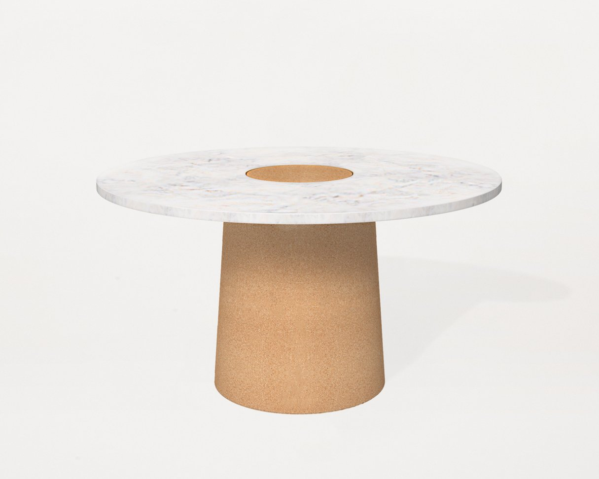 Frama Sintra Dining Table | White Marble