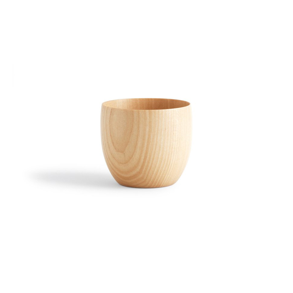 Cara Wooden Tea Cup