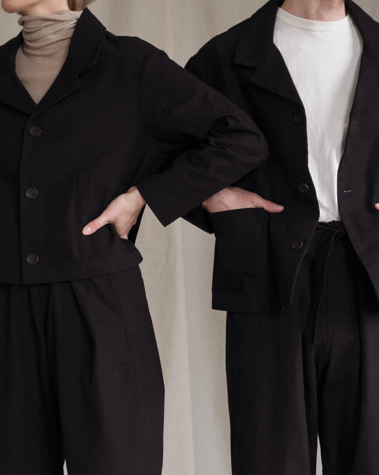 Aure Studio Painter´s Jacket Short Black