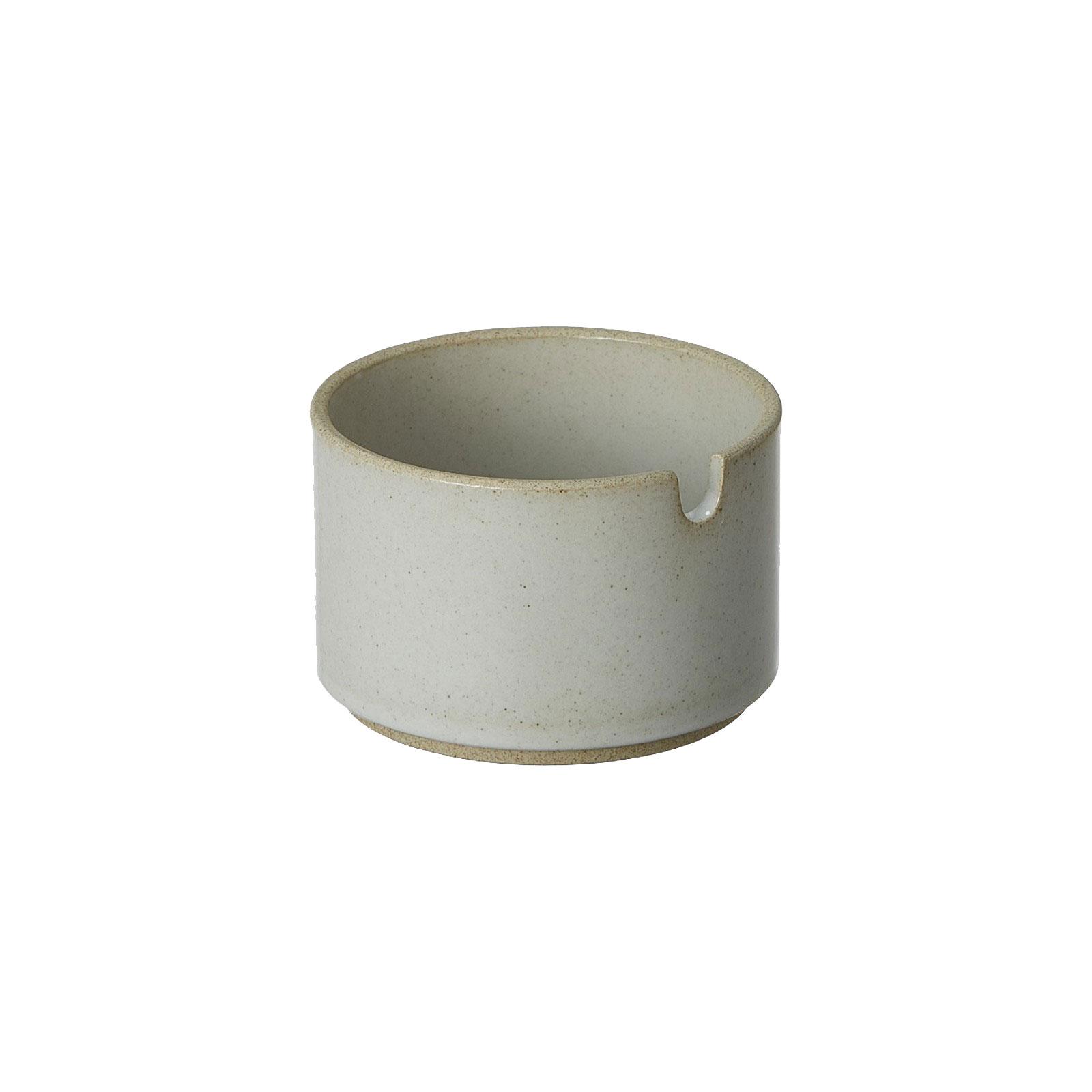 HPM017 Hasami Sugar Bowl grey glossy