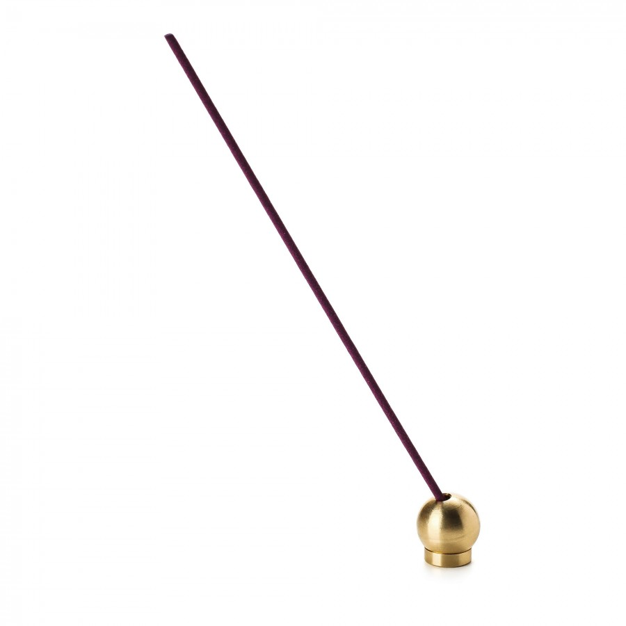 Bodha Ritual Incense Holder Brass