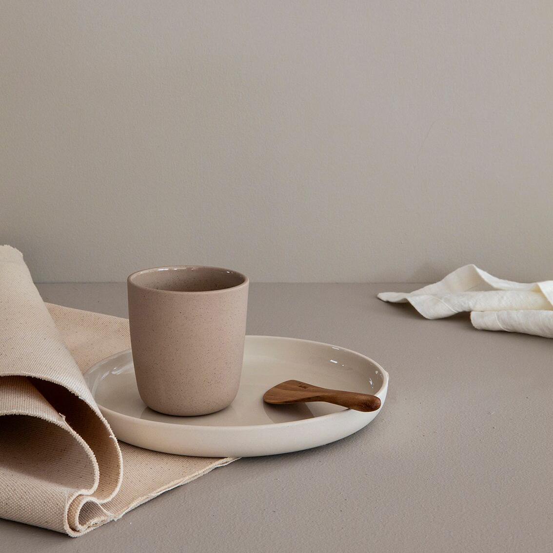 Noidoi Noon Plate Ivory