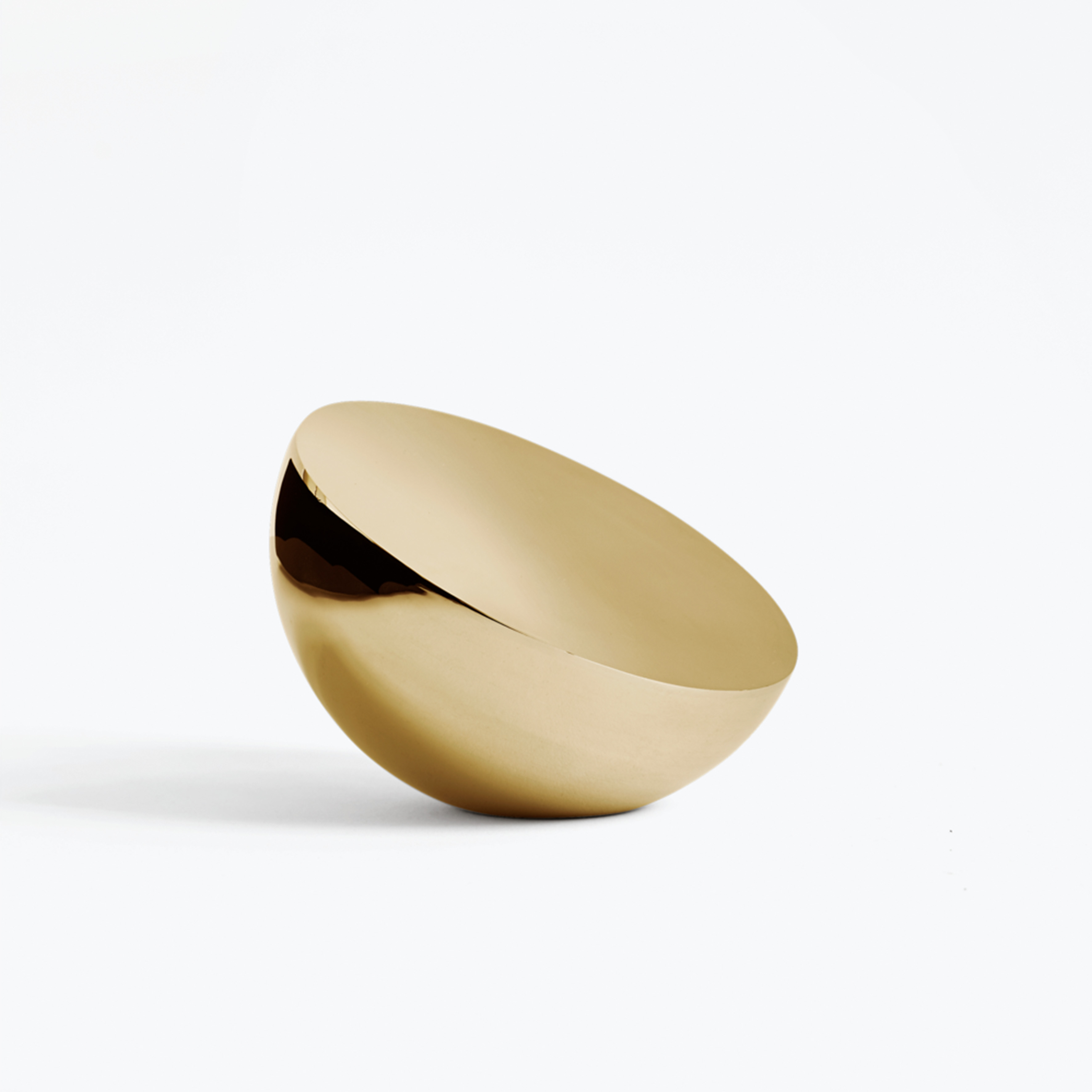 New Works Aura Table Mirror - Steel