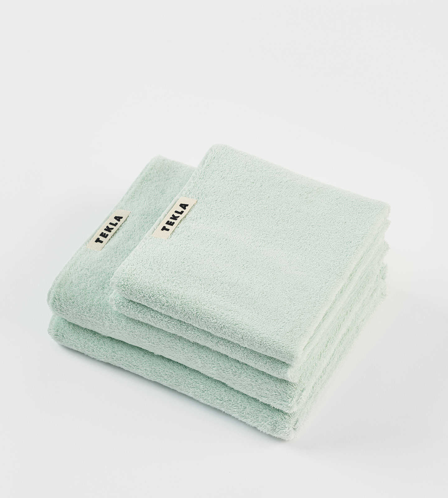 Tekla Organic Terry Towel - Mint
