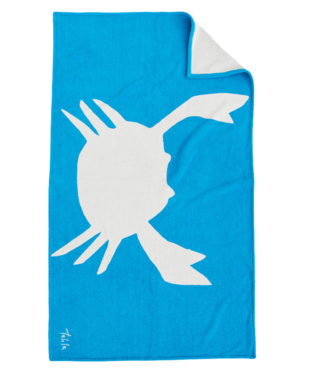 Tekla Organic Beach Towel Crab
