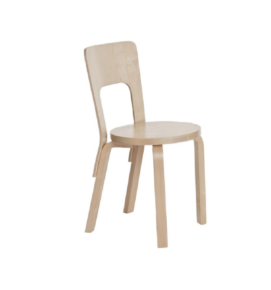 Artek 66 Chair Birch