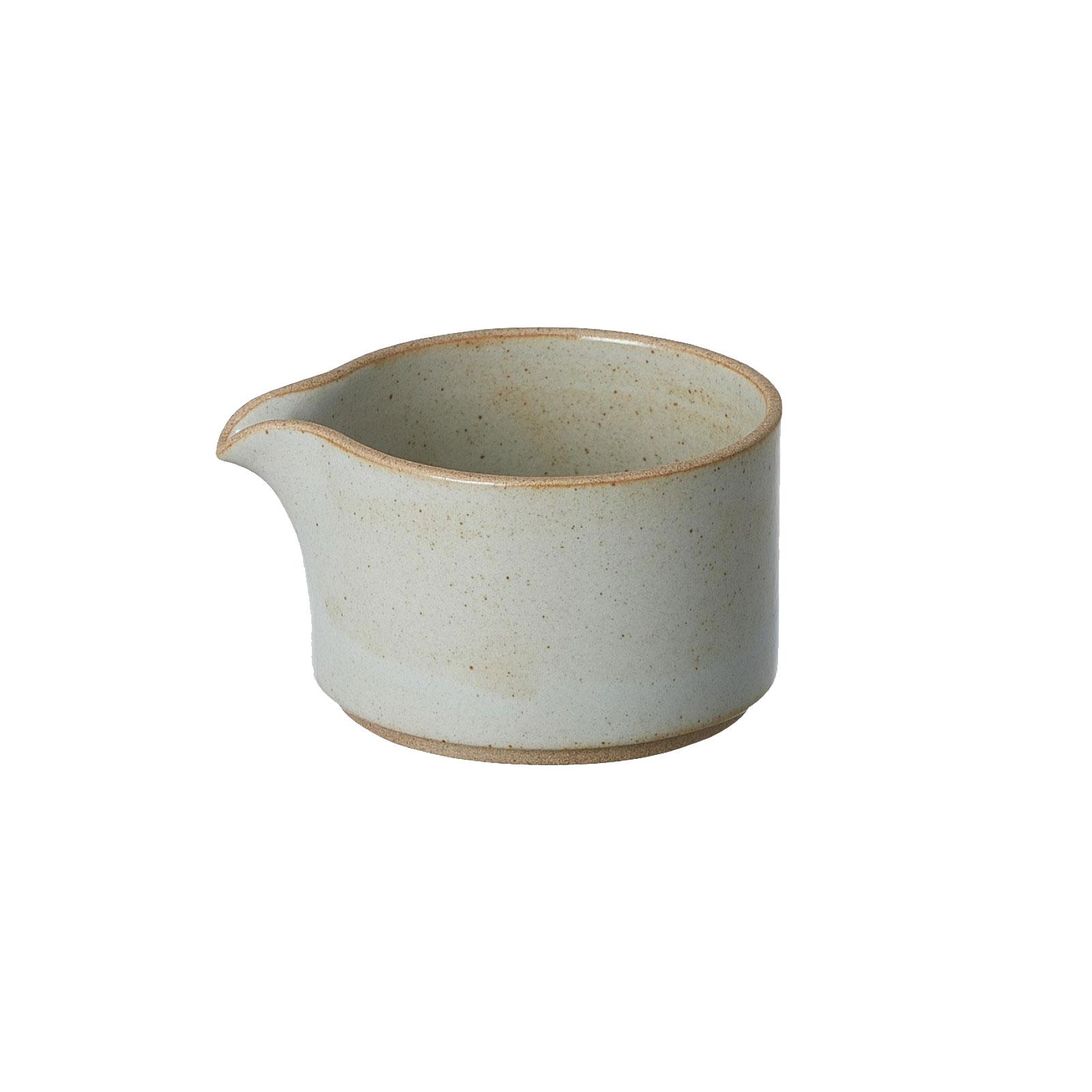 HPM028 Hasami Milk Pitcher grey glossy