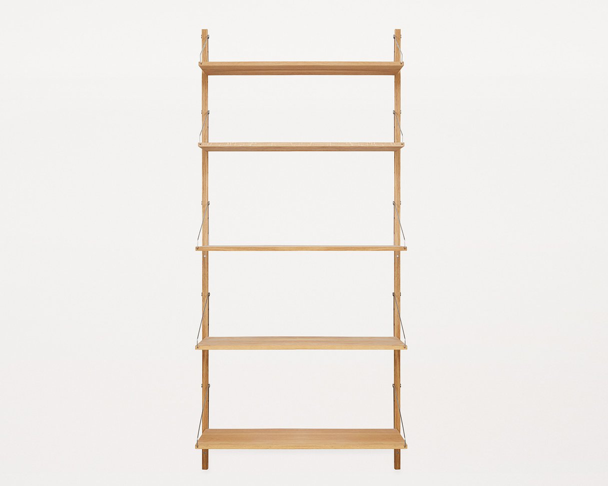 Frama Shelf Library Oak H 1852