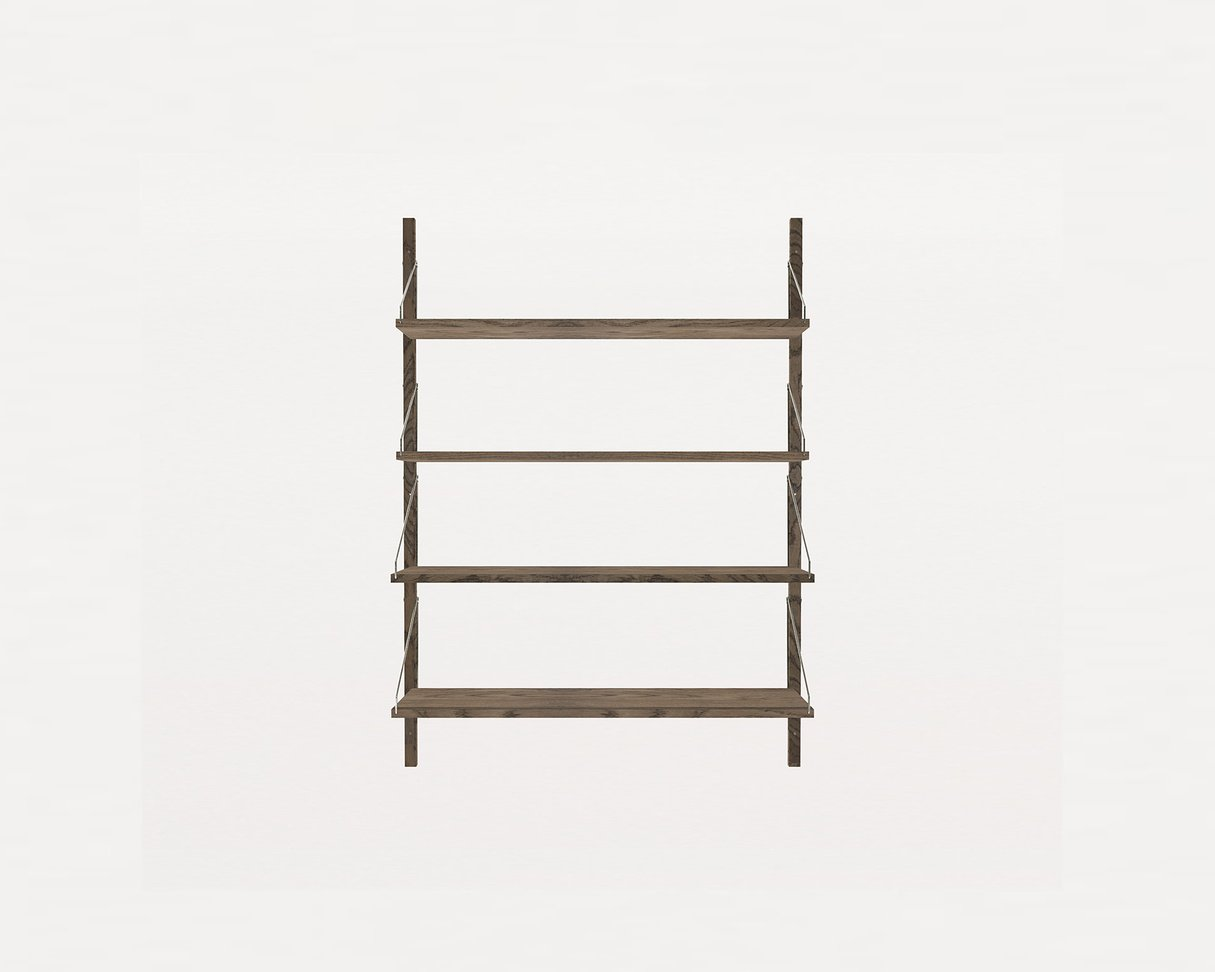Frama Shelf Library Dark Oak H1148