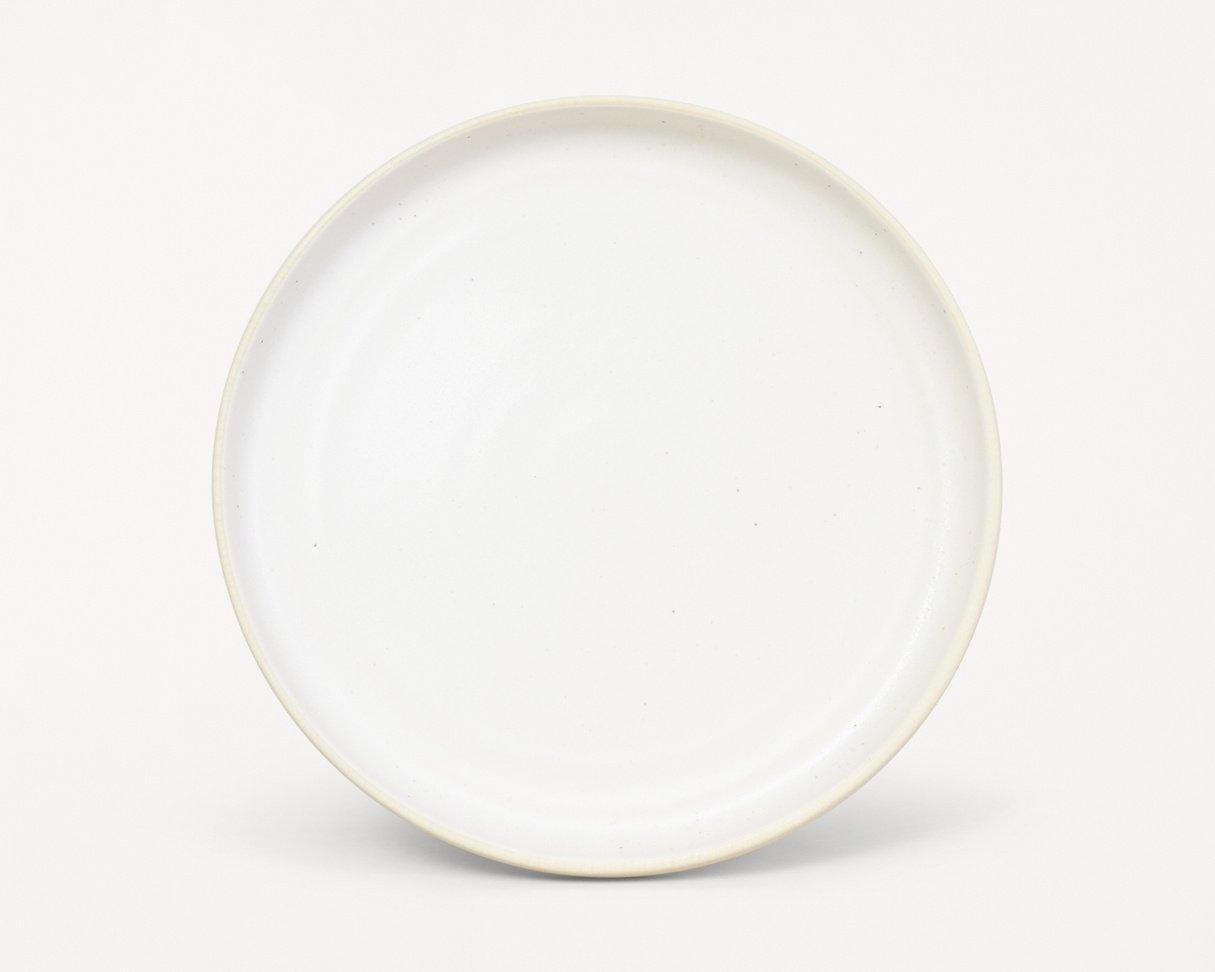 Frama Otto plate (L) White