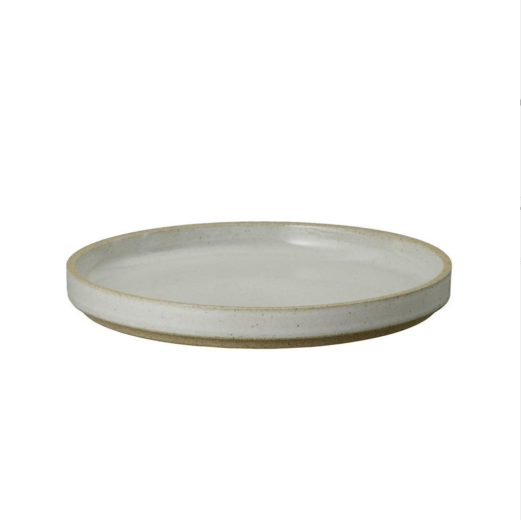 HPM003 Hasami Plate grey glossy Ø 18,5 cm